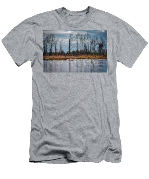 Pocosin Lakes Nwr Men's T-Shirt (Athletic Fit)
