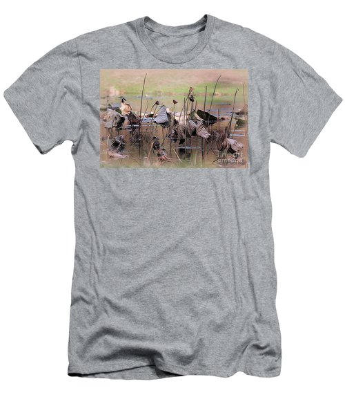 Pods At Sunset Men's T-Shirt (Athletic Fit)