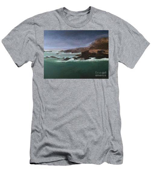 Point Lobos Monterey Men's T-Shirt (Athletic Fit)