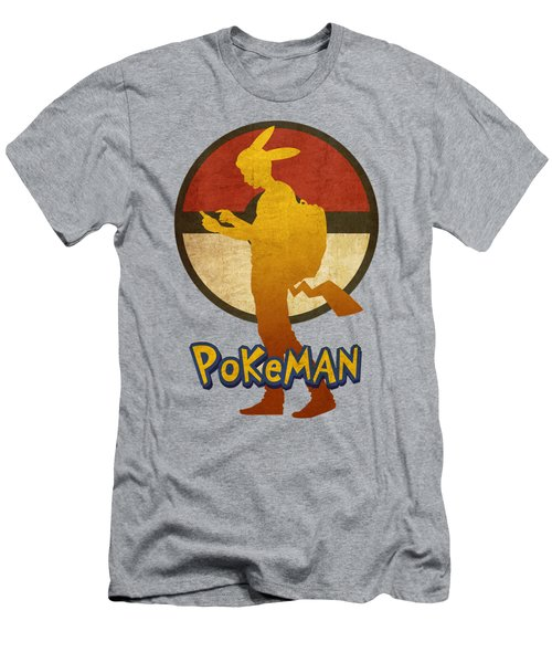 Pokeman 5 Men's T-Shirt (Athletic Fit)