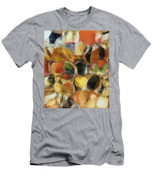 Crazy Quilt Men's T-Shirt (Slim Fit) by Kathie Chicoine
