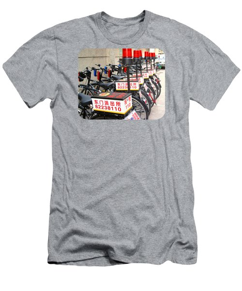 Police Bicycles Men's T-Shirt (Athletic Fit)