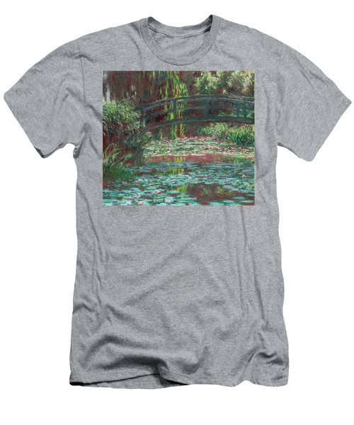 The Bridge Over The Waterlily Pond 1900 Men's T-Shirt (Athletic Fit)