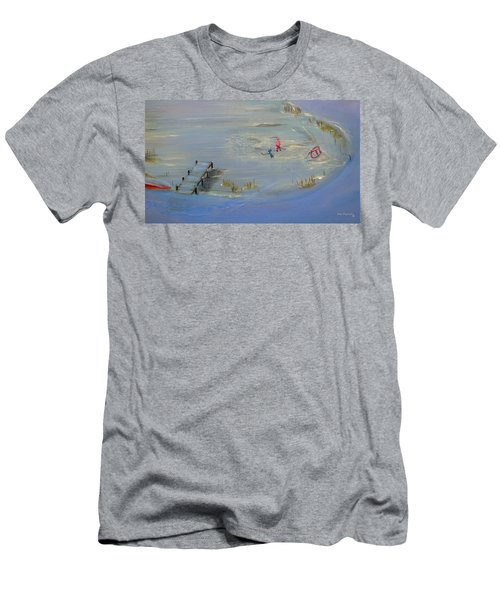 Pond Hockey Men's T-Shirt (Athletic Fit)