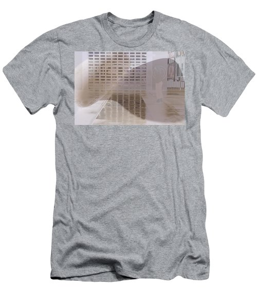 Pondering Men's T-Shirt (Slim Fit) by Kerryn Madsen-Pietsch