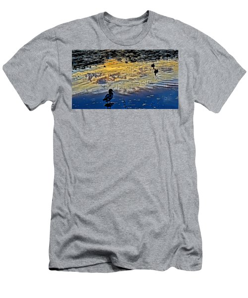 Pondscape Men's T-Shirt (Athletic Fit)