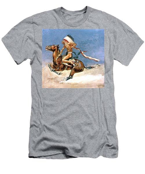 Pony War Dance Men's T-Shirt (Athletic Fit)