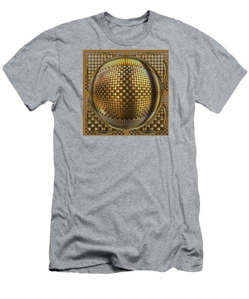 Pop Art Circles Men's T-Shirt (Slim Fit) by Mario Carini