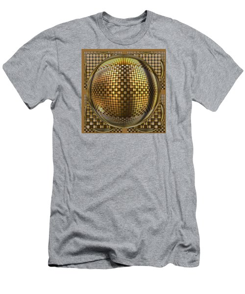 Pop Art Circles Men's T-Shirt (Athletic Fit)