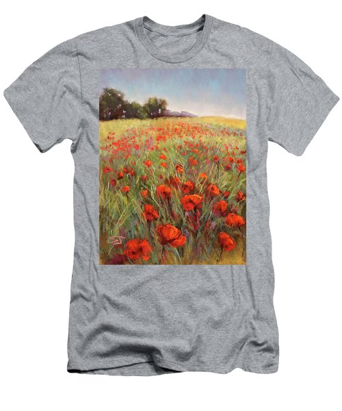 Poppy Dance Men's T-Shirt (Athletic Fit)