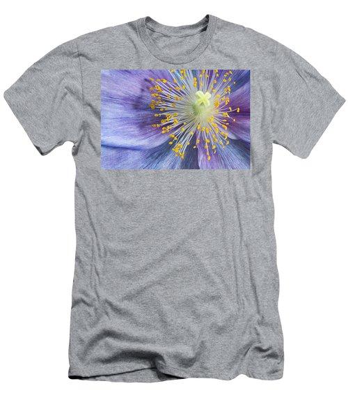 Poppy Fireworks Men's T-Shirt (Athletic Fit)