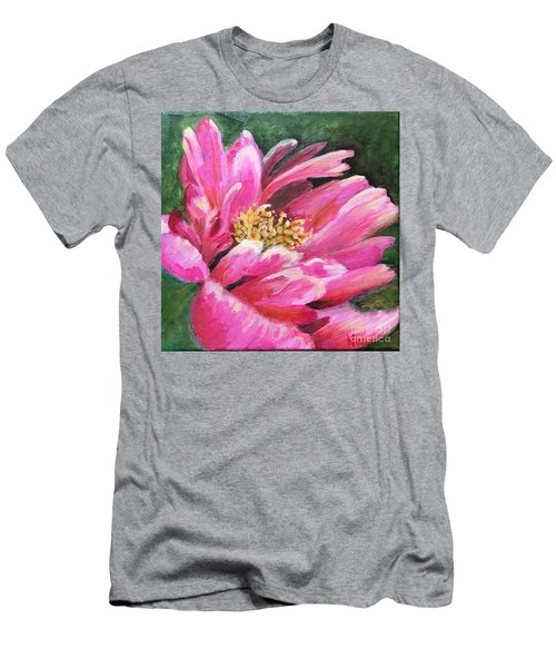 Poppy Melody Men's T-Shirt (Athletic Fit)