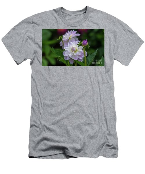 Porcelain Dahlias 2 Men's T-Shirt (Athletic Fit)