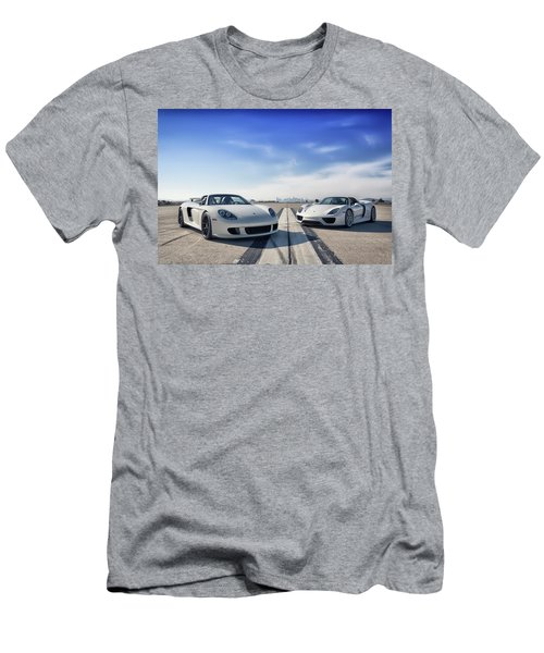 #porsche #carreragt And #918spyder Men's T-Shirt (Athletic Fit)