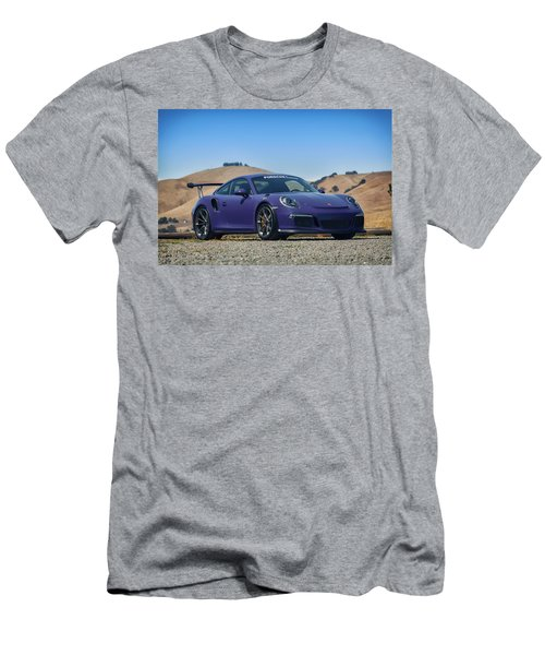 #porsche #gt3rs #ultraviolet Men's T-Shirt (Athletic Fit)
