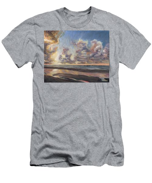 Port Aransas Sunrise Men's T-Shirt (Athletic Fit)