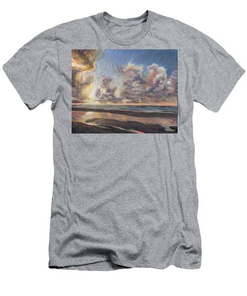 Port Aransas Sunrise Men's T-Shirt (Athletic Fit)
