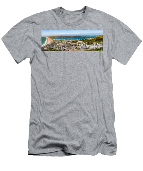 Portland And Chesil Beach Men's T-Shirt (Athletic Fit)