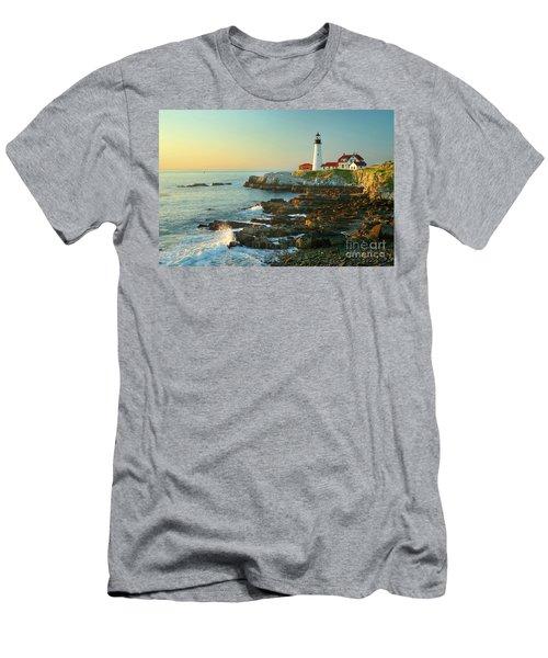 Portland Head Light No. 2  Men's T-Shirt (Athletic Fit)