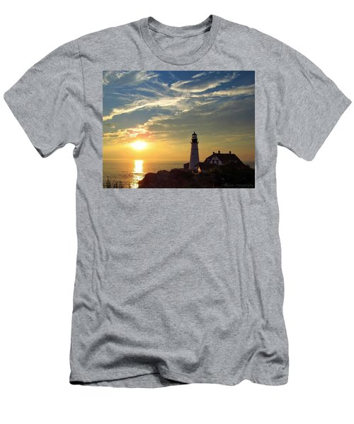 Portland Headlight Sunbeam Men's T-Shirt (Athletic Fit)