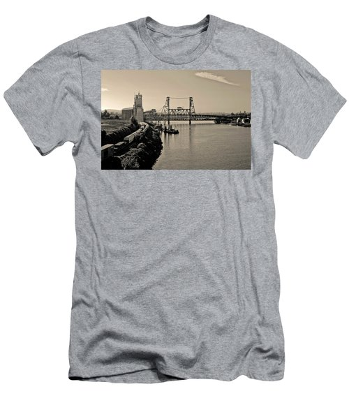 Portland Steel Bridge Men's T-Shirt (Athletic Fit)