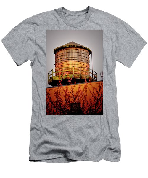 Portland Water Tower IIi Men's T-Shirt (Athletic Fit)