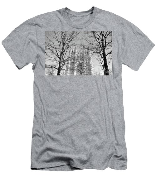 Portrait Of A Cathedral Men's T-Shirt (Athletic Fit)