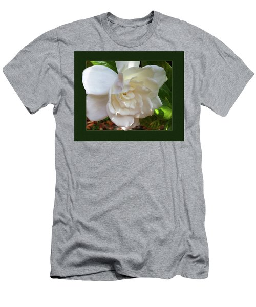 Portrait Of A Gardenia Men's T-Shirt (Athletic Fit)