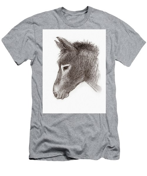 Portrait Of A Mule Men's T-Shirt (Athletic Fit)