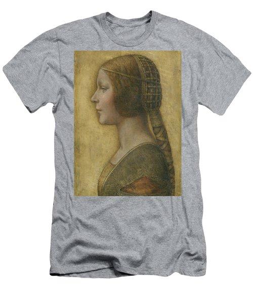 Portrait Of A Young Fiancee Men's T-Shirt (Athletic Fit)