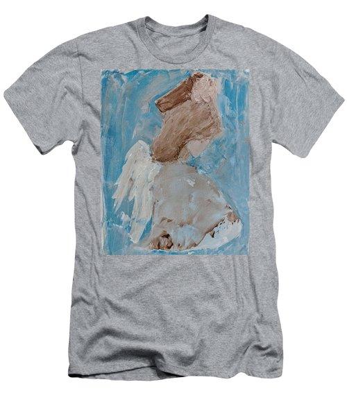 Portrait Of An Angel Men's T-Shirt (Athletic Fit)