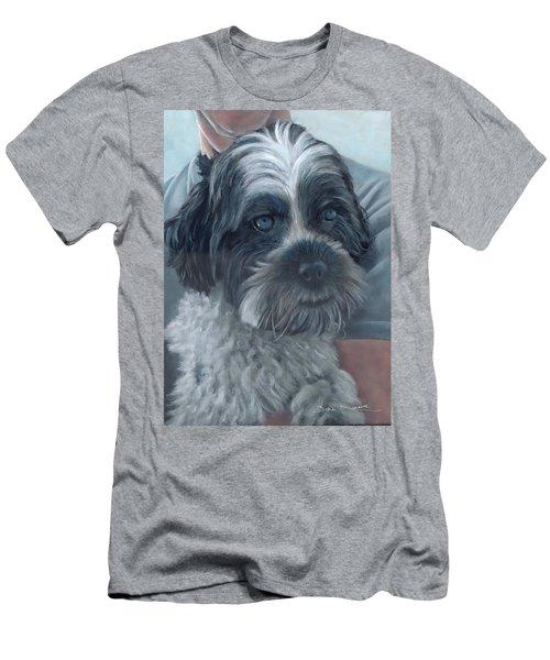 Portrait Of Charley Men's T-Shirt (Athletic Fit)