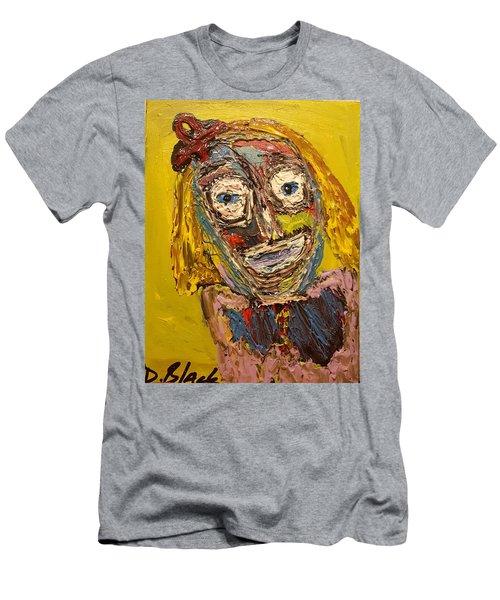 Portrait Of Finja Men's T-Shirt (Slim Fit) by Darrell Black