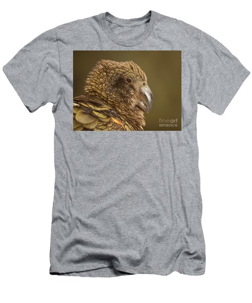 Portrait Of Kea Calling Men's T-Shirt (Athletic Fit)