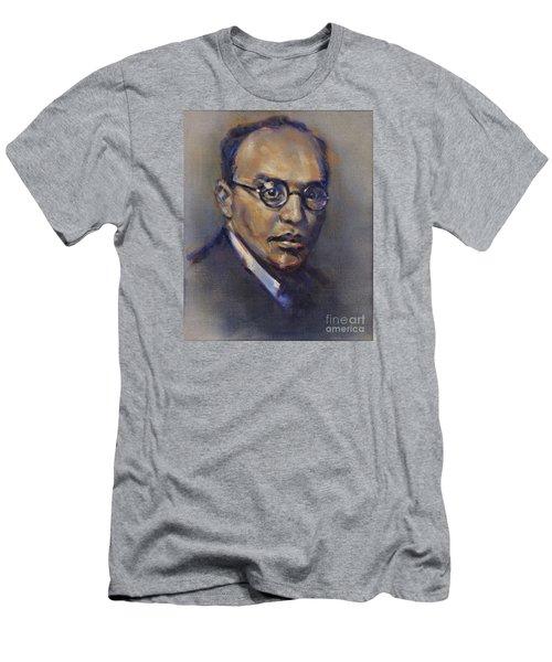 Portrait Of Kurt Weill Men's T-Shirt (Athletic Fit)