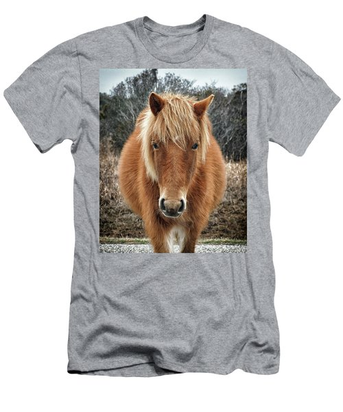 Portrait Of Mieke's Noe'lani Men's T-Shirt (Athletic Fit)