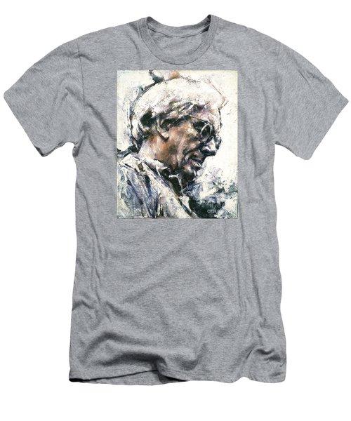 Portrait Of Robert Ashley Men's T-Shirt (Athletic Fit)