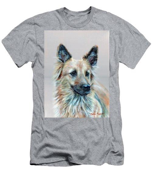 Portrait Of Sasha Men's T-Shirt (Athletic Fit)