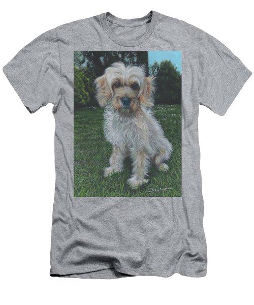 Portrait Of Toffee Men's T-Shirt (Athletic Fit)