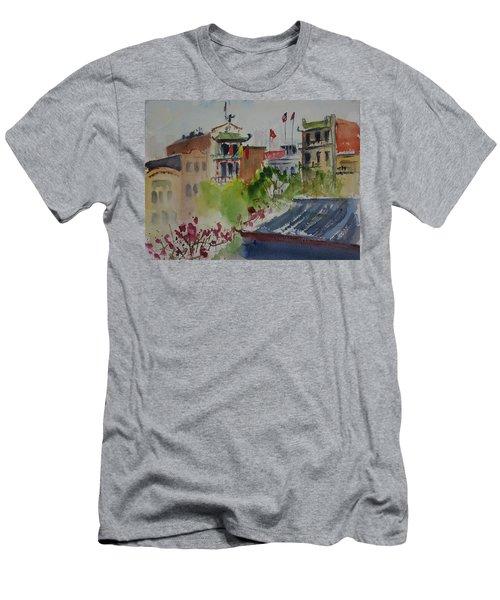 Portsmouth Square1 Men's T-Shirt (Athletic Fit)