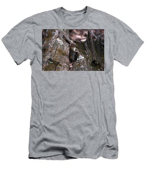 Posing #1 Men's T-Shirt (Slim Fit) by Jeff Severson