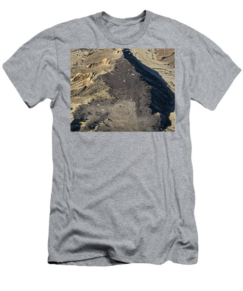 Men's T-Shirt (Athletic Fit) featuring the photograph Possible Archeological Site by Jim Thompson