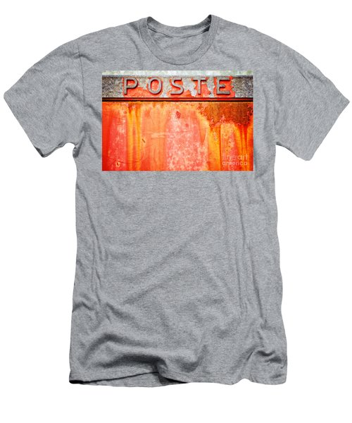 Poste Italian Weathered Mailbox Men's T-Shirt (Athletic Fit)
