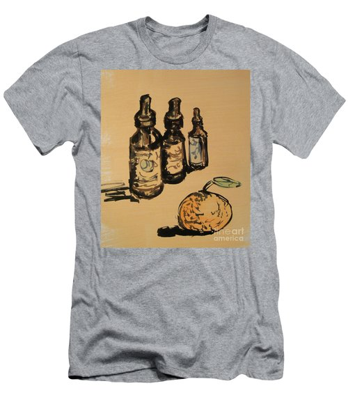 Men's T-Shirt (Athletic Fit) featuring the painting Potions by Maria Langgle