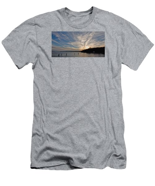 Potomac River Sunset Men's T-Shirt (Athletic Fit)