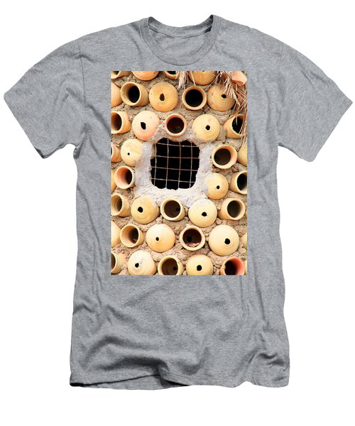 Potted View Men's T-Shirt (Slim Fit) by Jez C Self