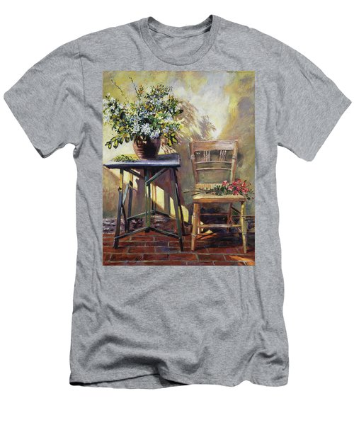 Pottery Maker's Table Men's T-Shirt (Athletic Fit)