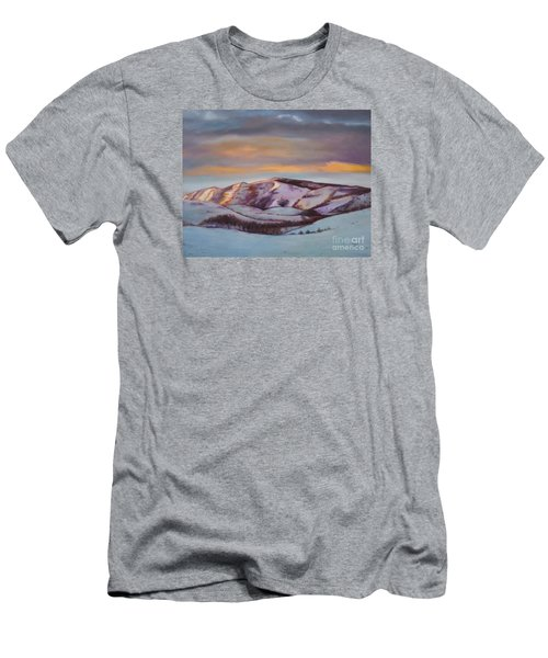Powder Mountain Men's T-Shirt (Slim Fit) by Marlene Book