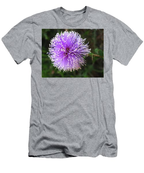 Purple Orb Men's T-Shirt (Slim Fit) by Mary Ellen Frazee