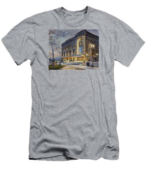 Powell Symphony Hall In Saint Louis Men's T-Shirt (Slim Fit) by Irek Szelag